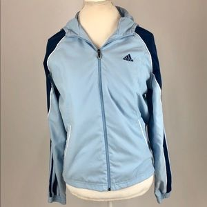 Adidas Ladies Lightweight Jacket with Hood